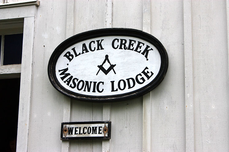 Toronto Photos :: Black Creek Pioneer Village :: Black Creek Pioneer Village - masonic lodge