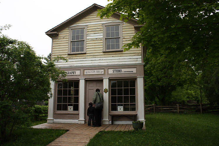 Toronto Photos :: Black Creek Pioneer Village :: Black Creek Pioneer Village - photo studio