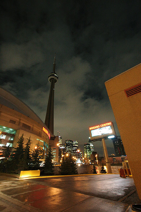 Toronto Photos :: CN Tower :: Toronto. CN Tower and Rogers Centre