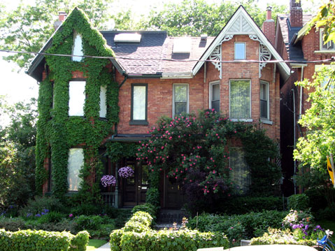 Toronto Photos :: Cabbagetown :: Toronto. Cabbage Town