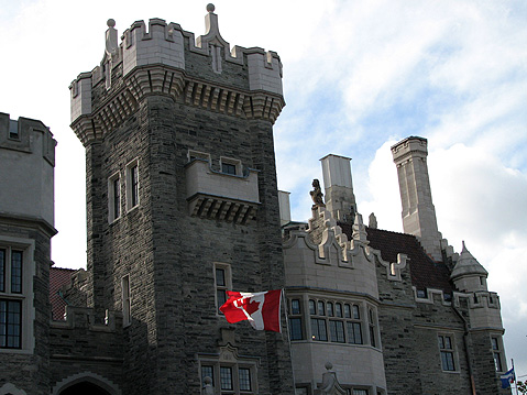 Toronto Photos :: Casa Loma :: Toronto. Casa Loma Castle - Entrance