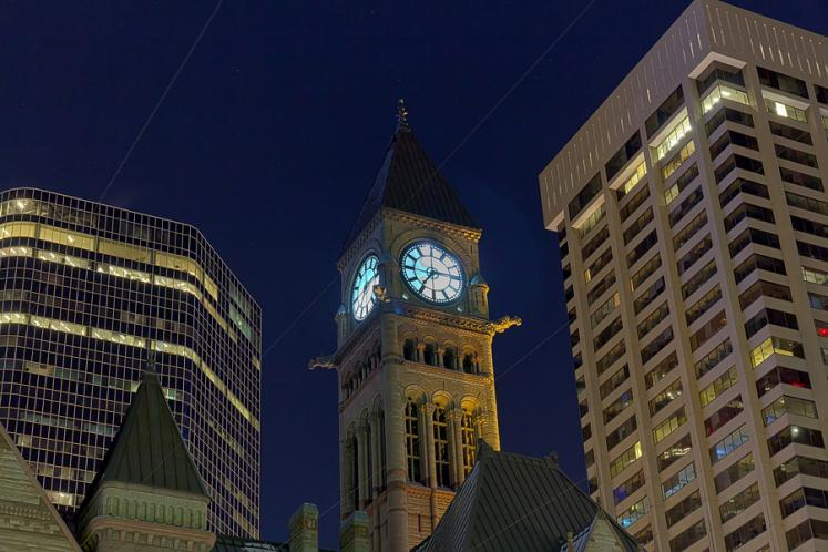 Toronto Photos :: Night views :: Toronto. Old City Hall