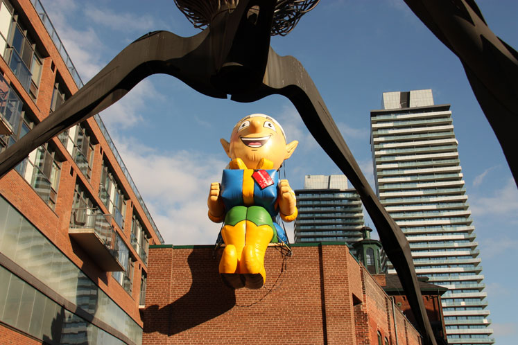 Toronto Photos :: Distillery District :: Distillery District, Christmas week