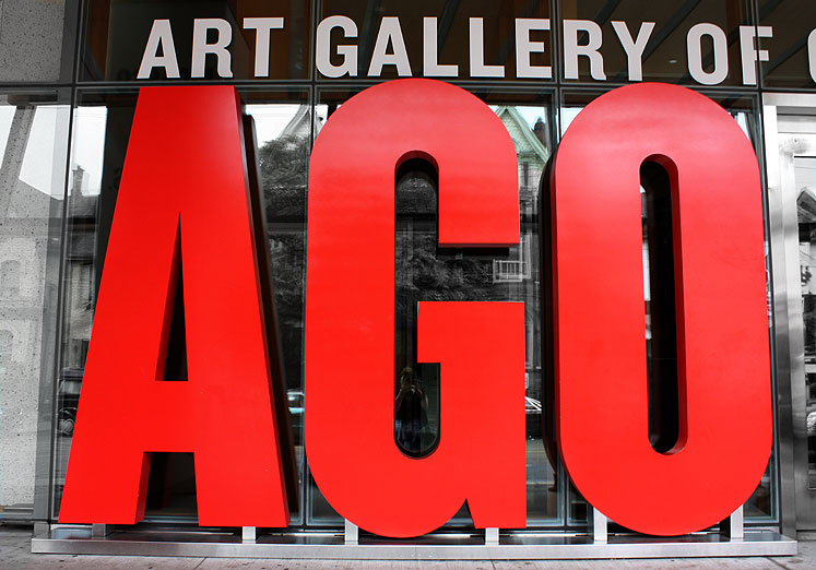 Toronto Photos :: Downtown :: Art Gallery of Ontario entrance