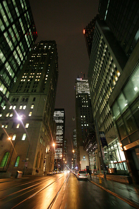 Toronto Photos :: Night views :: Toronto. King Street