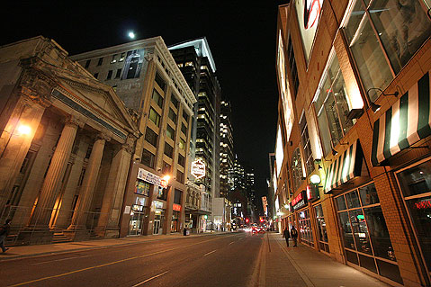 Toronto Photos :: Downtown :: Toronto at night