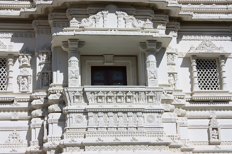Toronto Photos :: Hindu Temple :: Hindu Temple - a balcony