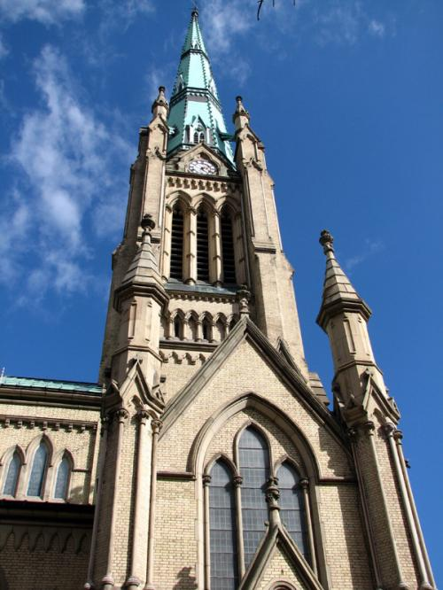 Toronto Photos :: King Street :: St. James church
