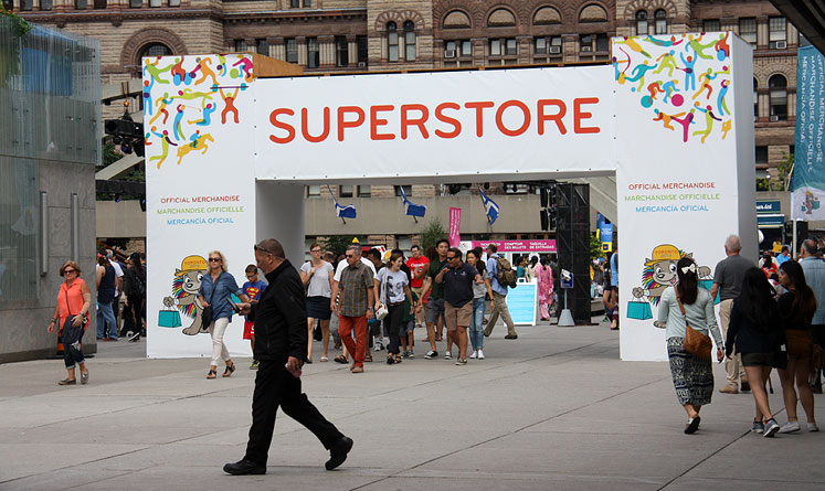 Toronto Photos :: Toronto  Misc :: Toronto. Official  Pan Am games store