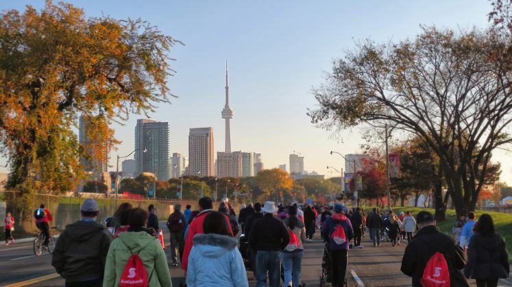 Toronto Photos :: Polin :: Toronto. Scotiabank marathon, October 2013