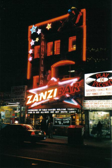 Toronto Photos :: Jewishfan :: Zanzibar for adults.