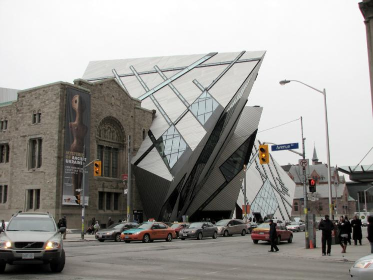 Toronto Photos :: Royal Ontario Museum :: Royal Ontario Museum - the Crystal