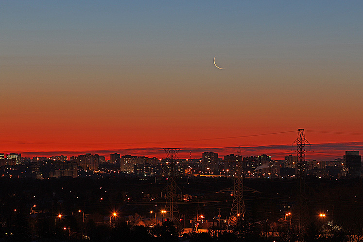Toronto Photos :: North York :: Toronto before the sunrise