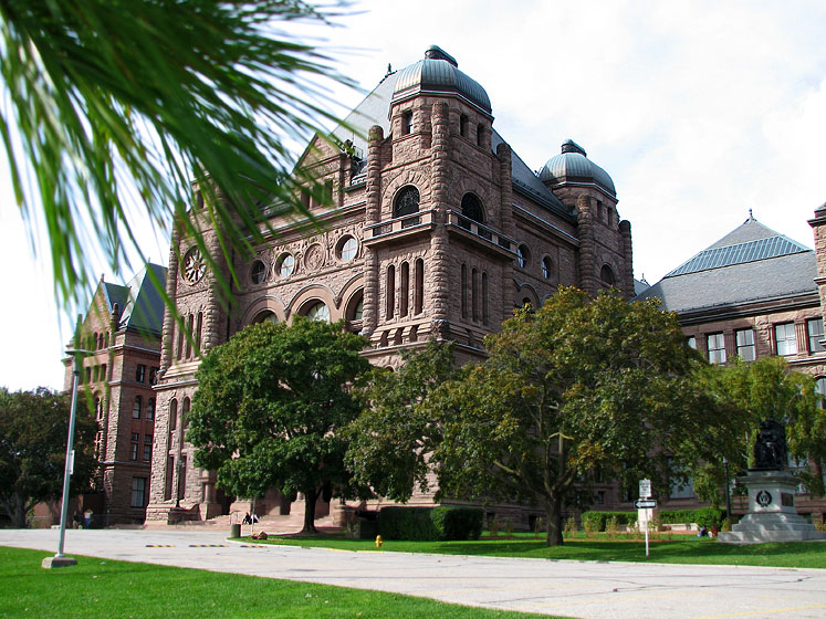Toronto Photos :: Ontario Parliament building :: Ontario Legislative Building