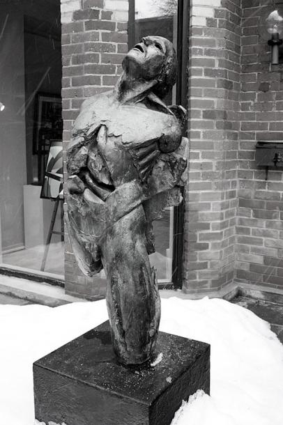 Toronto Photos :: Sculptures in the city :: A sculpture in Yorkville